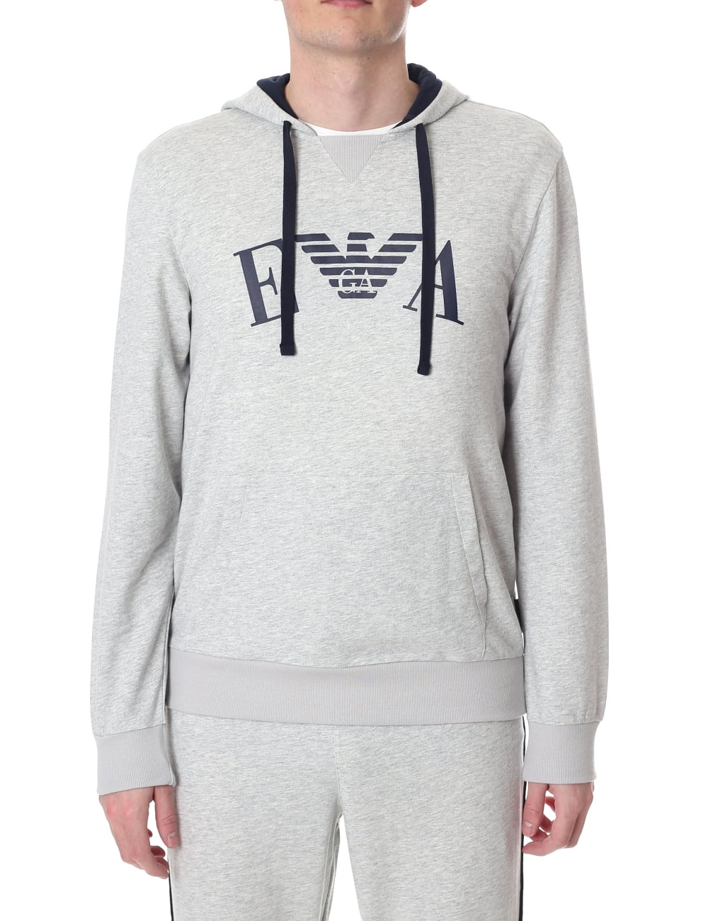 1a57c397 Emporio Armani Men's Pullover Hooded Sweat Top