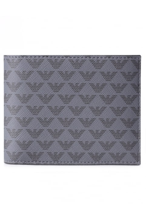 Men's Repeat Logo Billfold Wallet