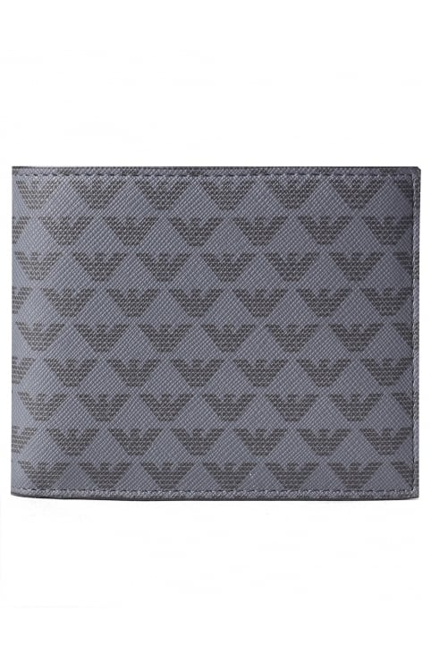 Men's Repeat Logo Billford & Coin Wallet