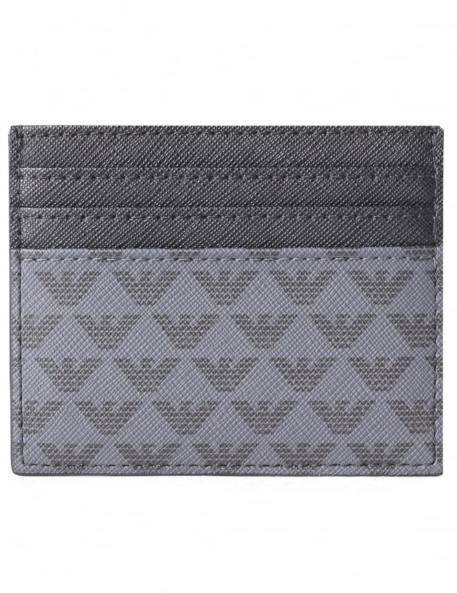 Emporio Armani Men's Repeat Logo Card Holder