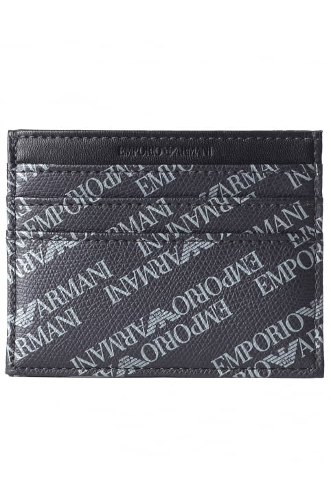 Men's Repeat Logo Card Holder