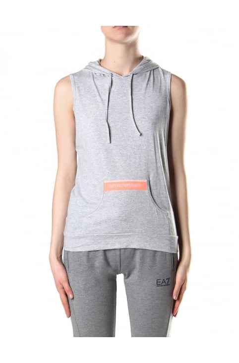 Pullover Women's Hooded Sleeveless Sweat Top