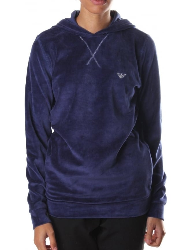 Emporio Armani Pullover Women's Hooded Sweat Top