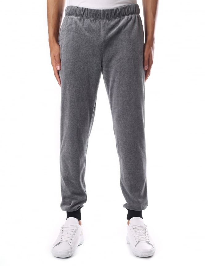 Emporio Armani Velour Men's Sweat Pants