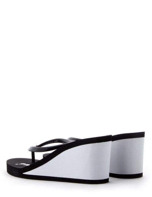 8d9c2b2c248b59 Wedge Heel Women s Flip Flop Beach Sandals Black