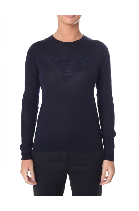 Women's Crew Neck Pullover Knit
