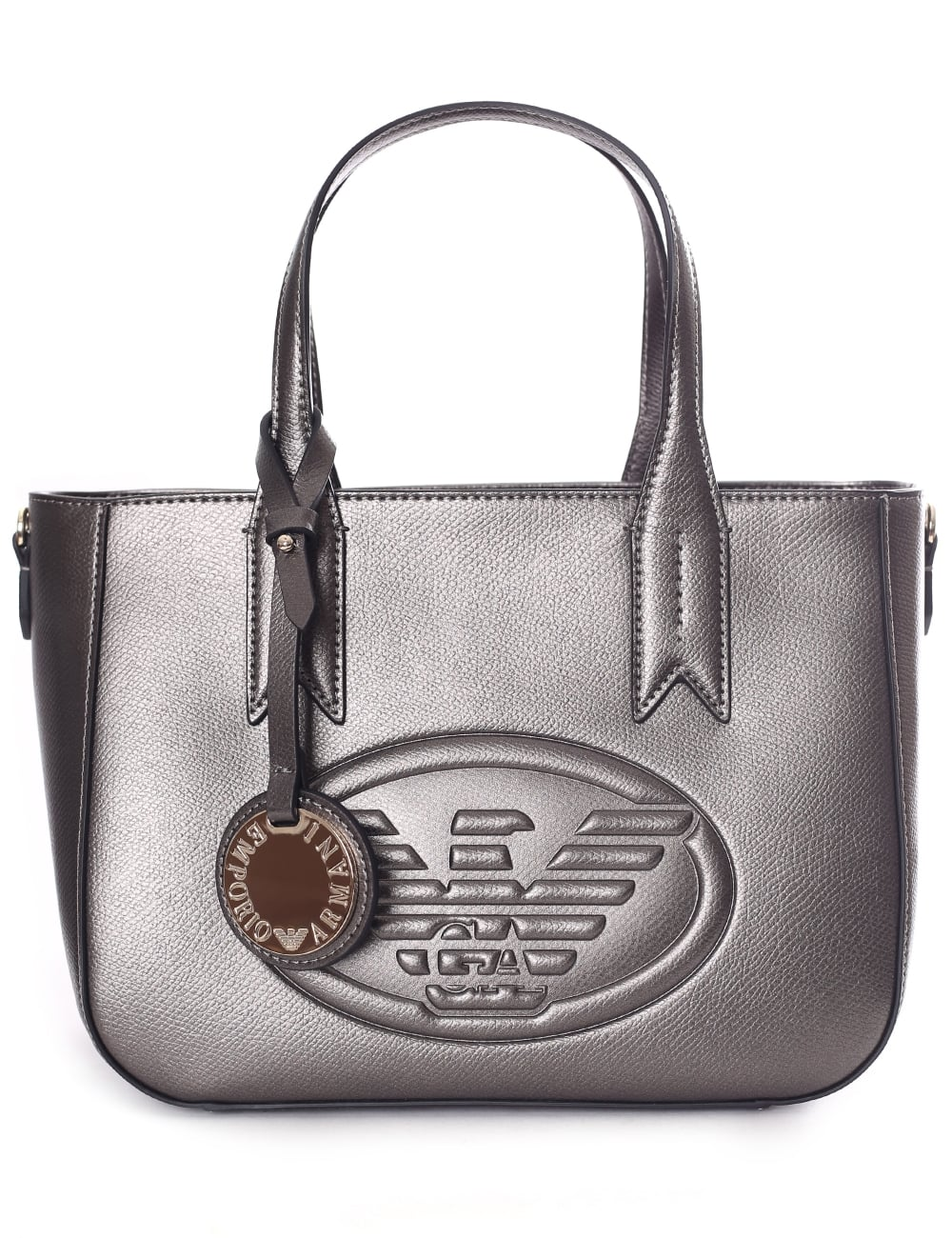 4a0730f457a6 Armani Jeans Women s Eagle Logo Mini Shopper