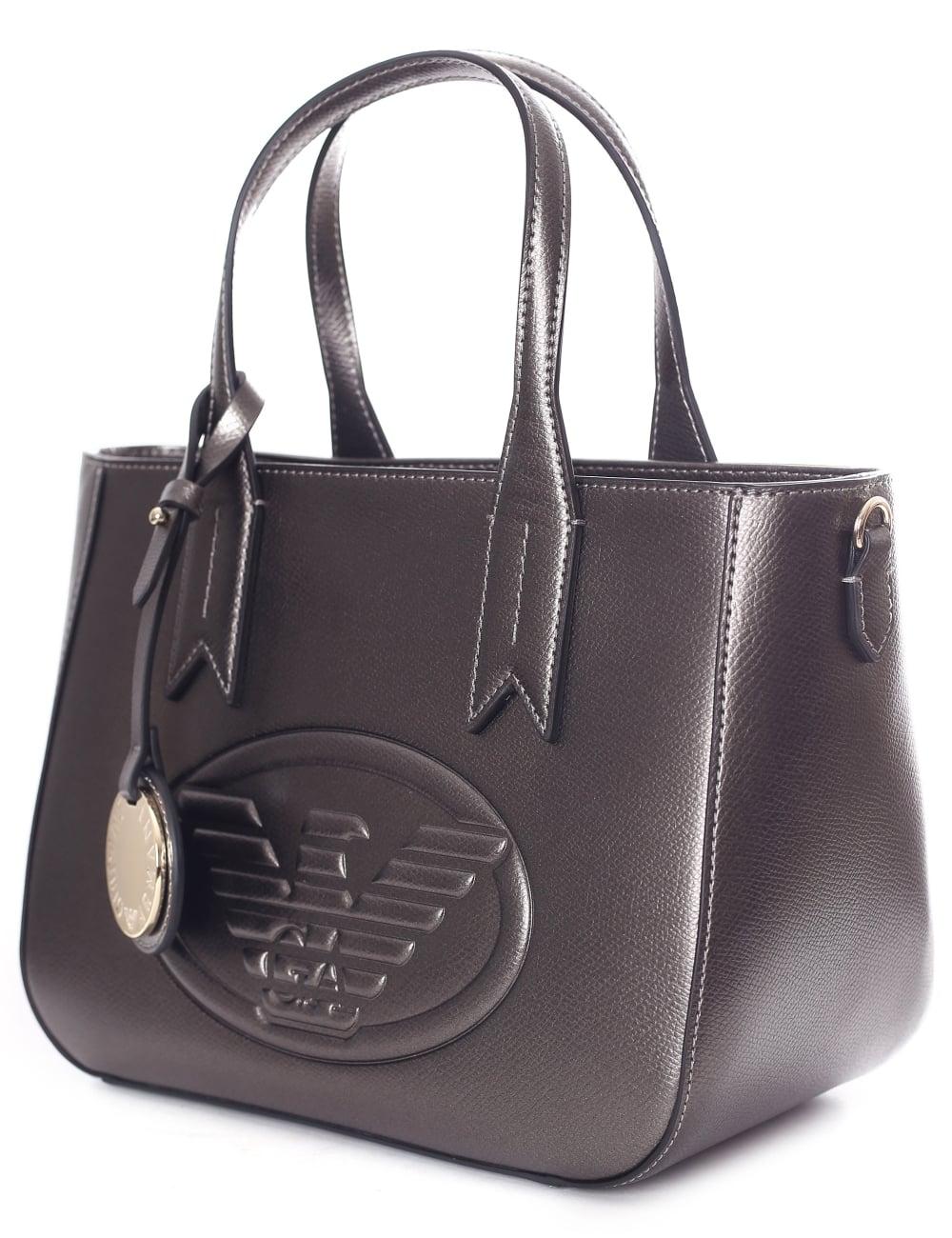 9a7a5a5d51 Armani Jeans Women s Eagle Logo Mini Shopper