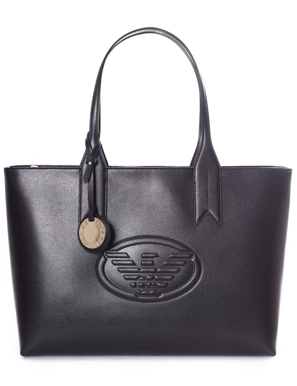 fcef600f14e5 Armani Jeans Women s Eagle Logo Shopper