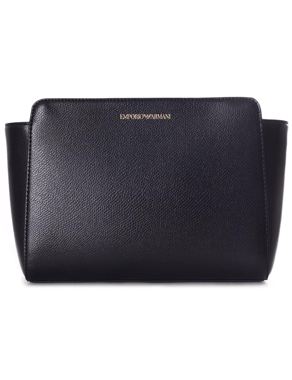 Emporio Armani Women s Medium Grain Crossbody Bag Black 49f98fb9267e8