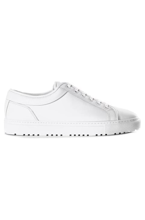 Low 1 Men's Leather Trainer White