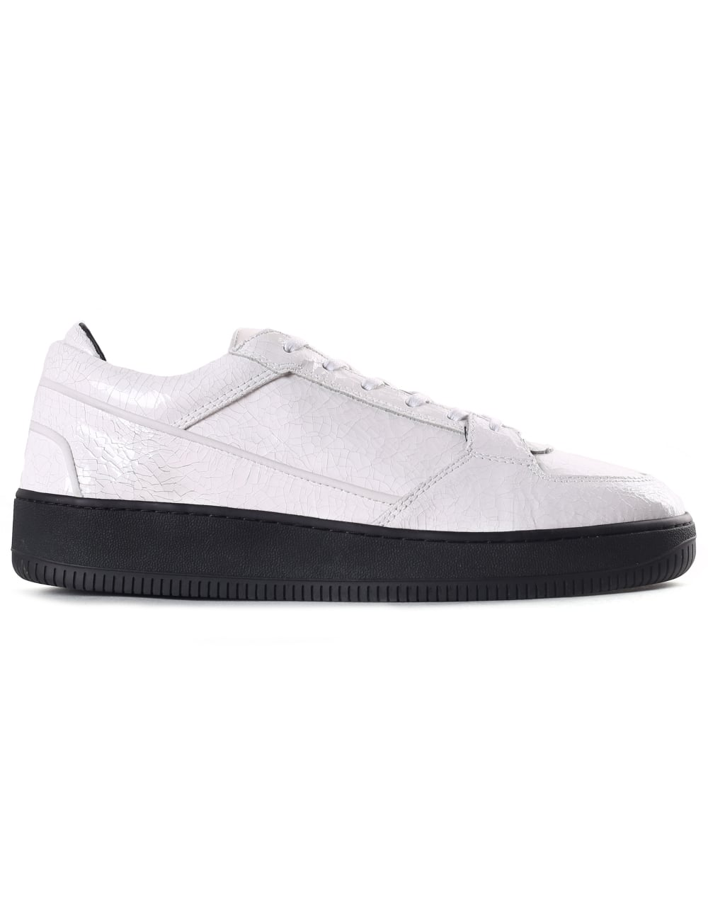 ETQ Men s Low 3 Trainer Cracked White bbb36f04a904