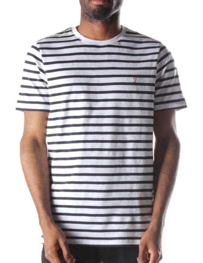 Farah Gieger Men's Stripe T-Shirt