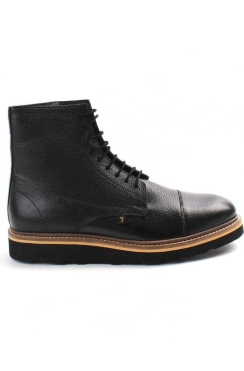 Margo Grain Leather Men's High Top Boot