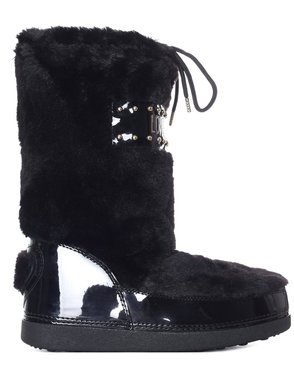 851de89a6 Love Moschino Faux Fur Snow Boot
