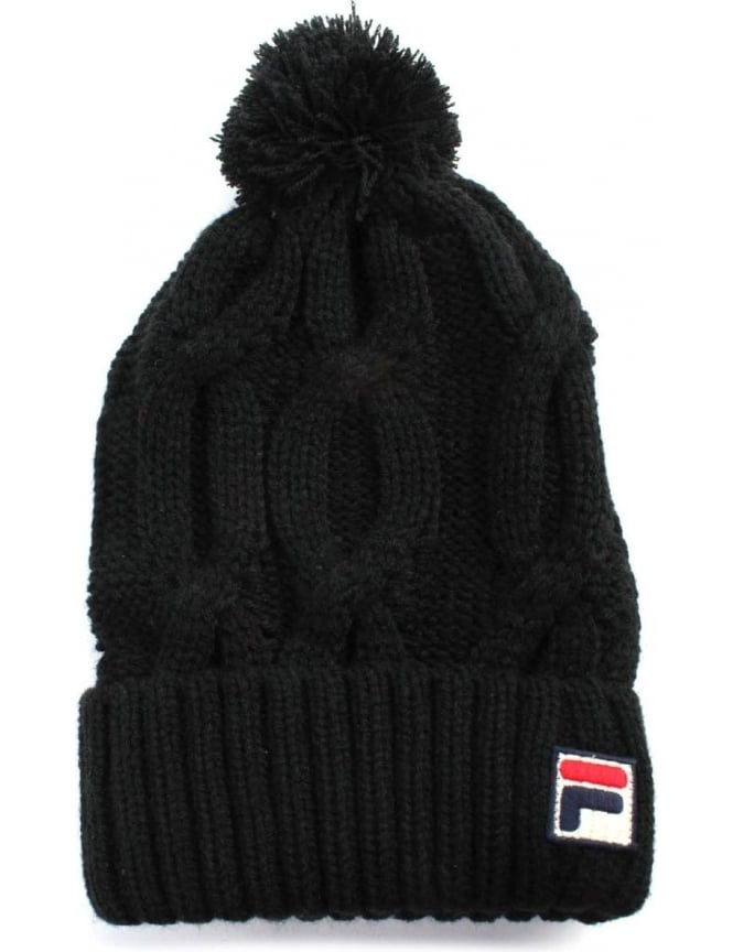 Fila Calapai Men's Knitted Ski Bobble Beanie