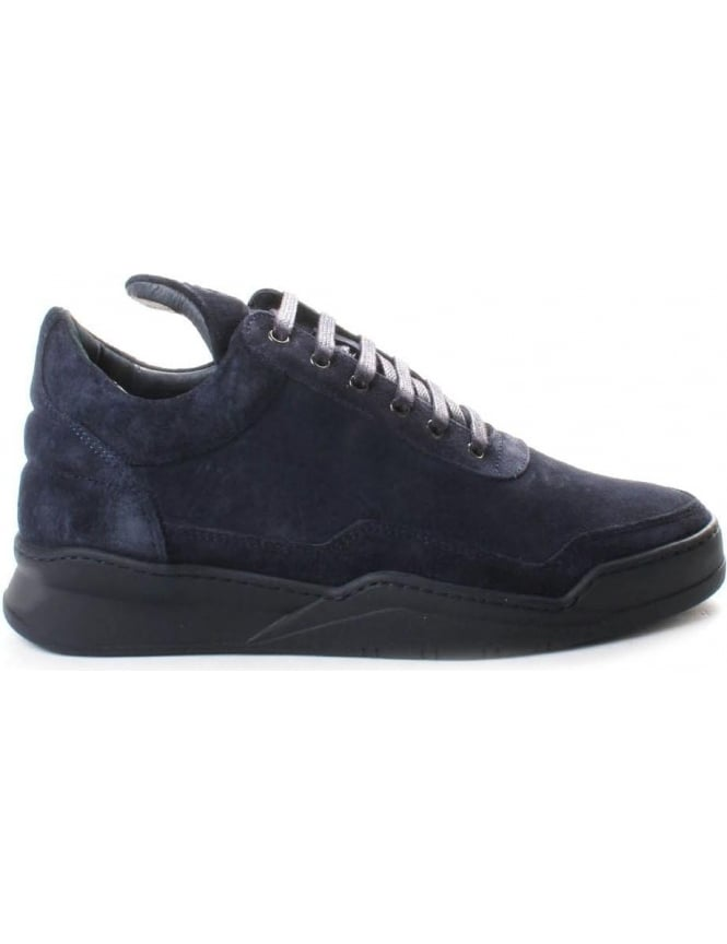 Filling Pieces Low Top Ghost Men's Lace Up Trainer