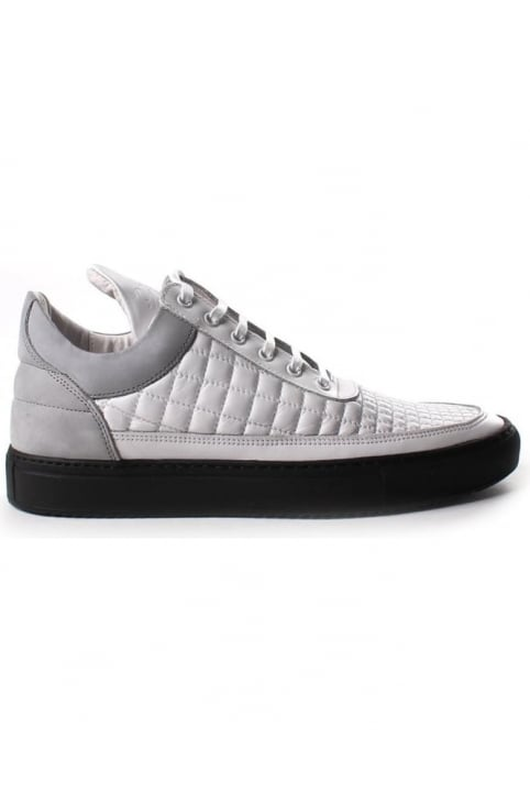 Low Top Gradient Quilt Men's Lace Up Trainer