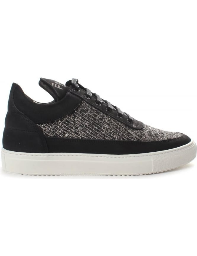 Filling Pieces Low Top Men's Tweed Trainer