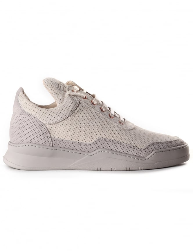 Filling Pieces Men's Low Top Perforated Trainer