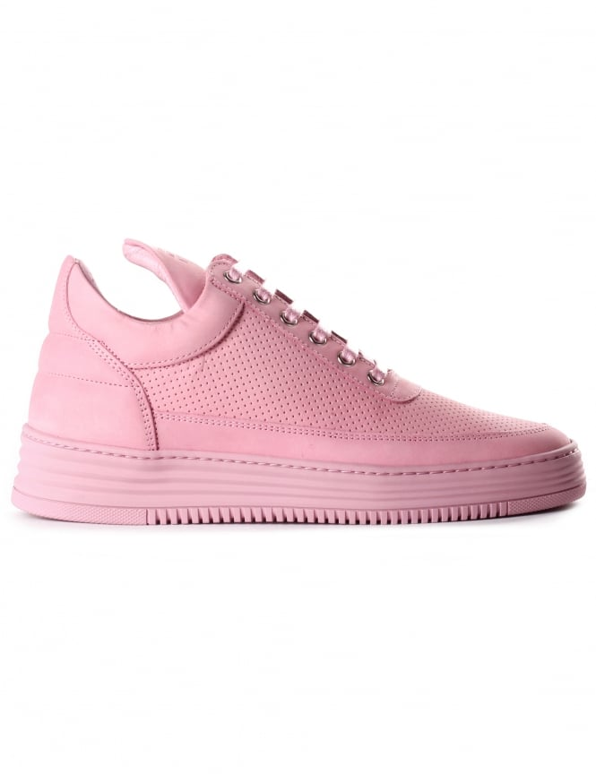 Filling Pieces Unisex Low Top Perforated Tone Trainer