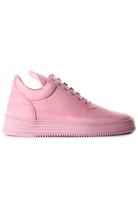 Women's Low Top Perforated Tone Trainer Lila