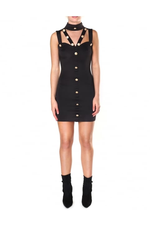 Women's Vie Detail Strappy Short Dress