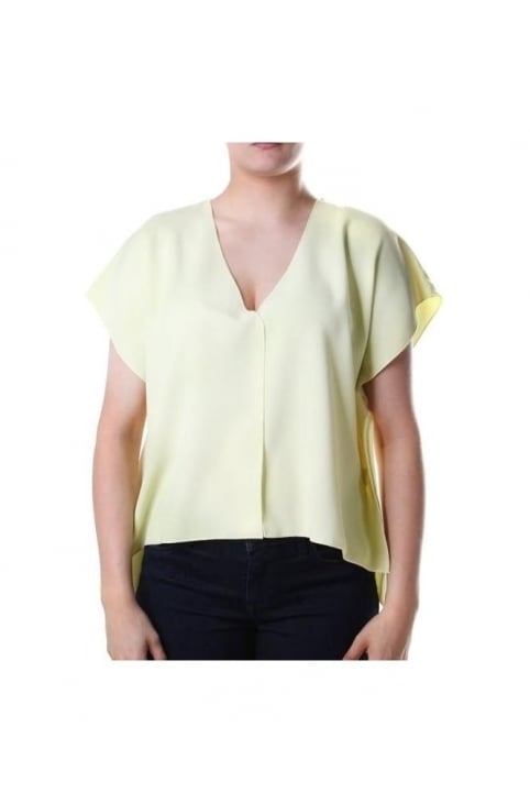 Arrow Women's Crepe V-Neck Top