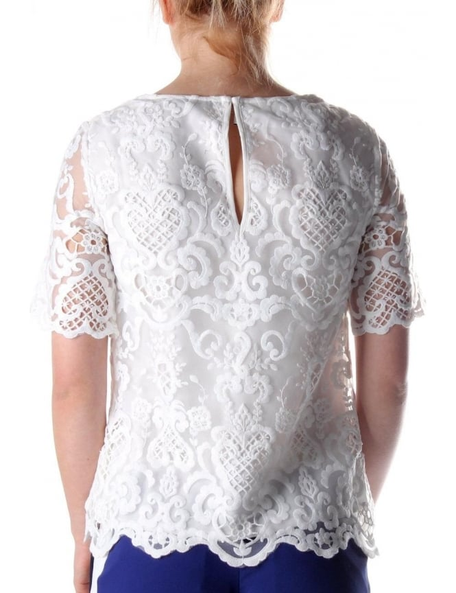ef8080bc7a French Connection Nebraska Women s Tunic Top White