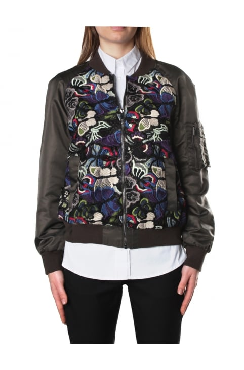 Rivera Women's Floral Bomber