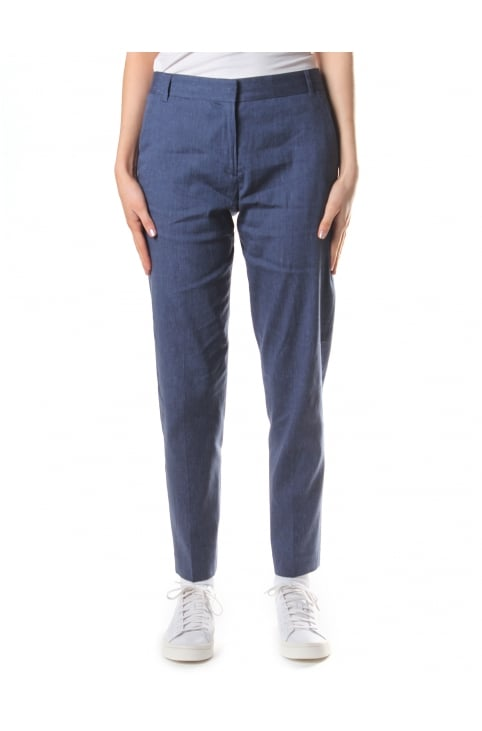 Women's Bour Linen Tapered Trousers