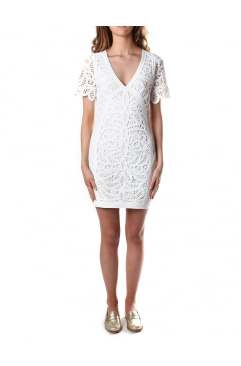 Women's Mesi Macrame Jersey Dress