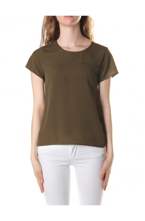 Women's Sania Plains Short Sleeve Round Neck