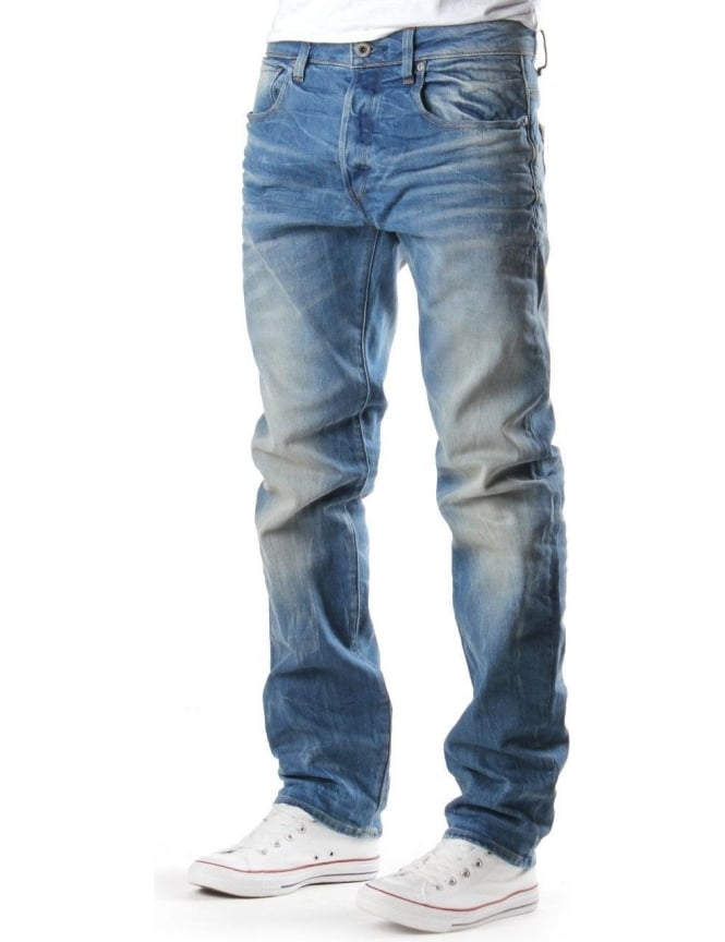 G-Star Raw 3301 Men's Cyclo Denim Jean LT Aged