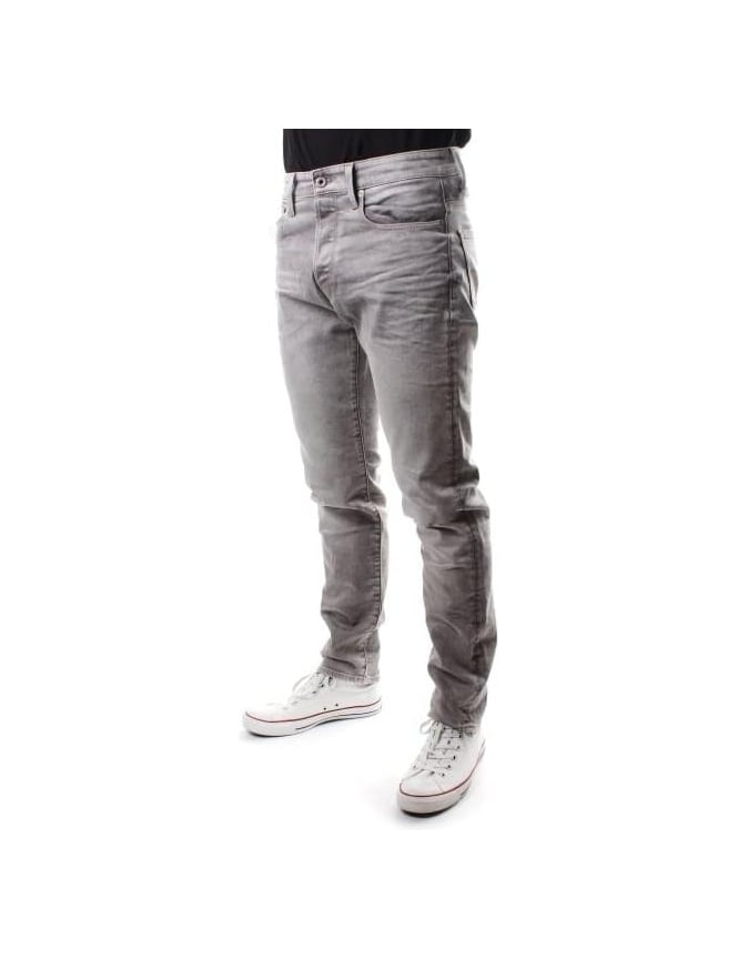 G-Star Raw 3301 Men's Tapered Kamden Denim Jean Light Aged