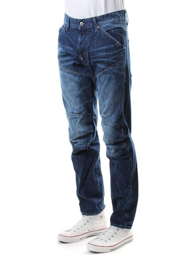 G-Star Raw 3D Tapered Wisk Denim Men's Jeans D.Aged