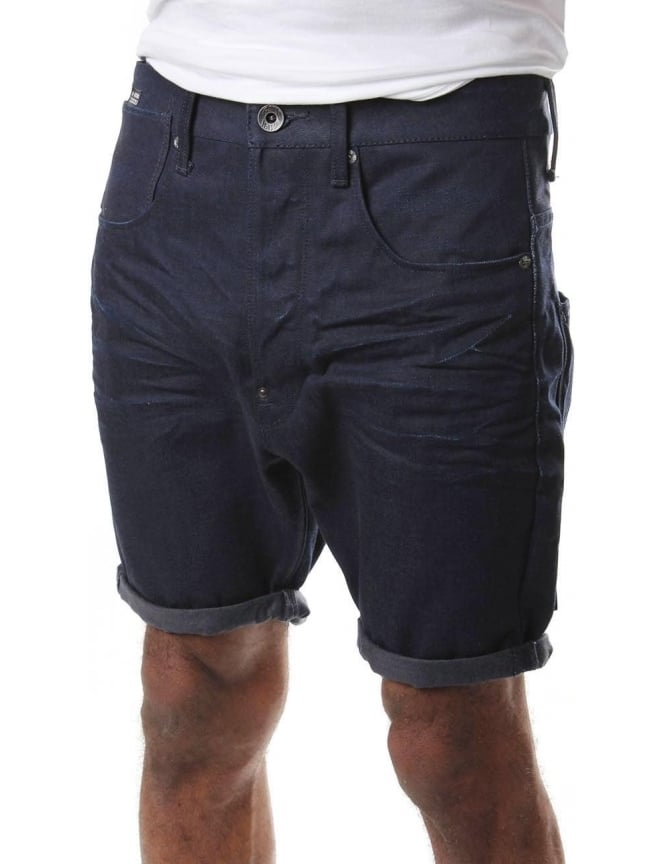 G-Star Raw A Crotch Lt Mazarine Men's Denim Short raw