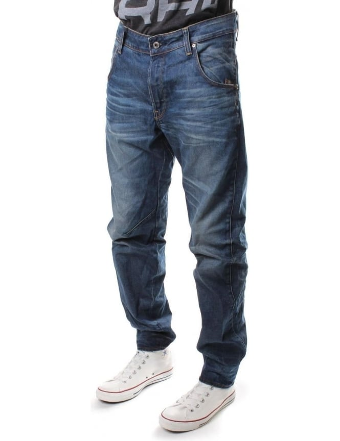 G-Star Raw Arc 3D Men's Tapered Hydrite Denim Jean D.Aged