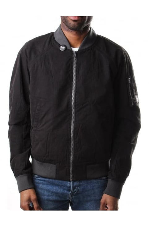 Attacc Scota Men's Weave Bomber Black