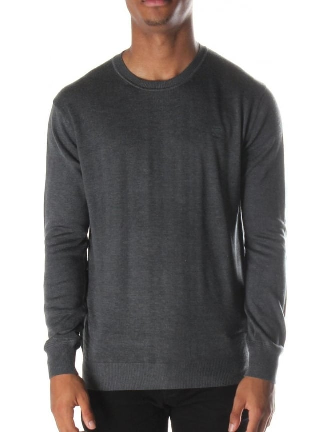 G-Star Raw Berlow Men's Crew neck Knit Pullover Raven