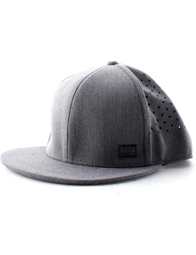dc0ebea4b G-Star Raw Blaker Men's Wairdon Twill Snapback Grey