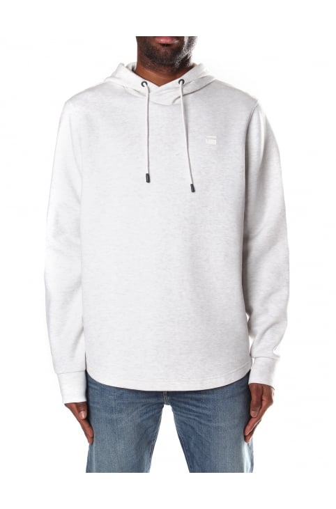 Calow Men's Hooded Sweat Top White Heather/Milk