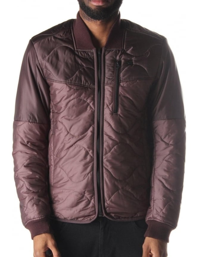 G-Star Raw Clackby Men's Reversible Bomber Jacket Taupe
