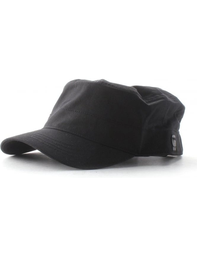 G-Star Raw Coban Men s Twill Duty Cap Black 7a3fd1feeb7