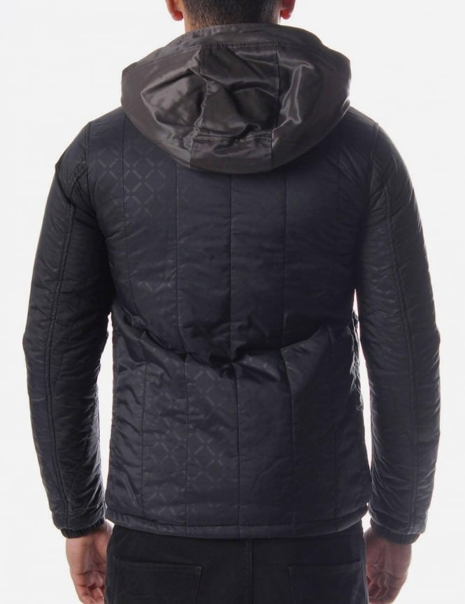 G Star Raw Correct Mens Diamond Quilted Jacket Black