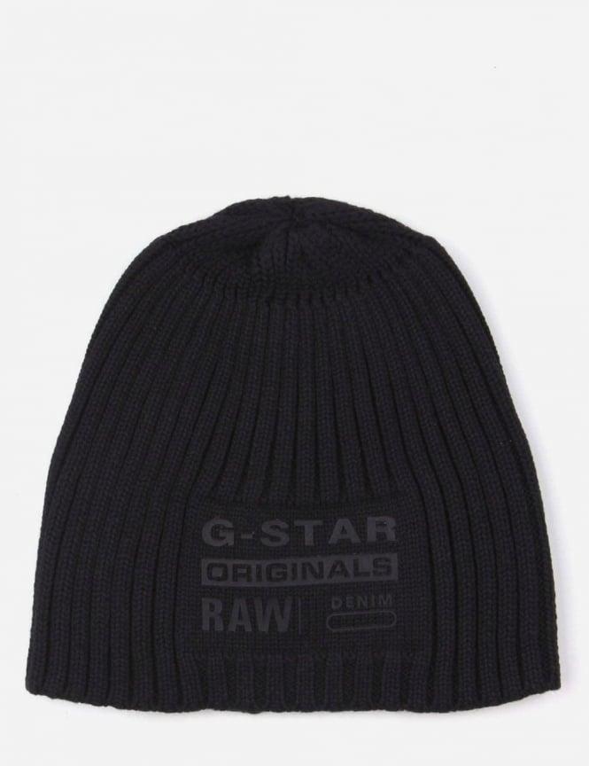 cf2aeab52 G-Star Raw Curtis Men's Knit Beanie Black