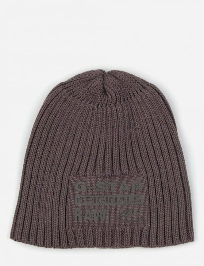 acfc06814 G-Star Raw Curtis Men's Knit Beanie Castor HTR