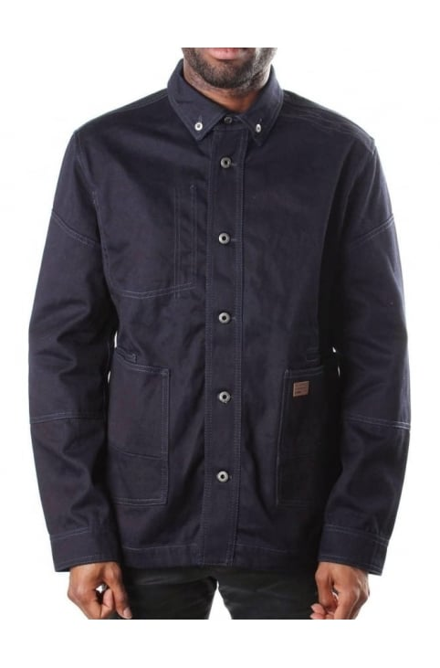 Faeroes Denim Men's Over Shirt Raw