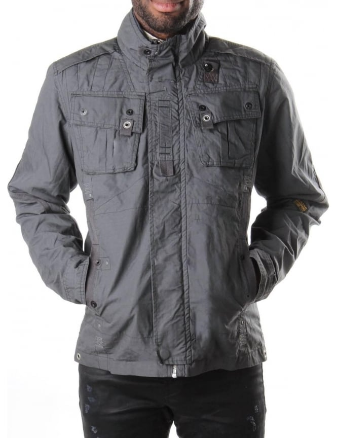 G-Star Raw Halo Recolite Overshirt Men's Jacket Night