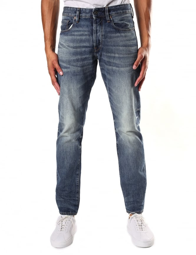 G-Star Raw Herf Denim Men's 3301 Tapered Jean